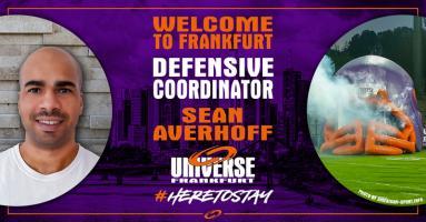 Herzlich willkommen im Team Universe, Sean Averhoff!