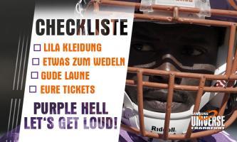 """""""Purple Hell"""" – Let`s get loud!"""