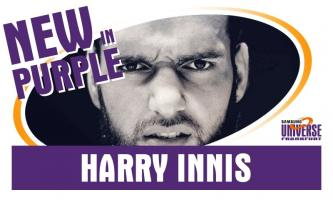 """Tight End Harry Innis wechselt zu den """"Men in Purple"""""""