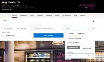 Moxy Frankfurt East ist das neue Partnerhotel