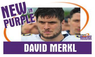 """Tight End David Merkl wird ein """"Man in Purple"""""""